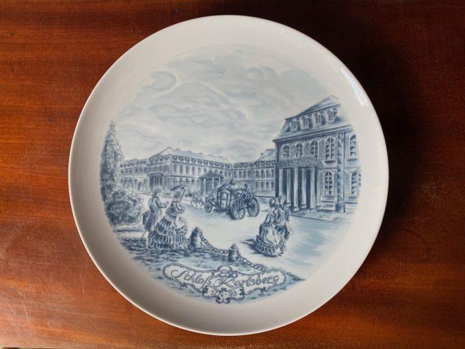 dekoracyjny talerz porcelanowy kolekcjonerski Villeroy & Boch