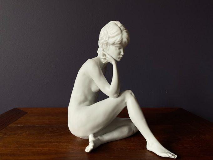 figurka biskwitowa KAISER