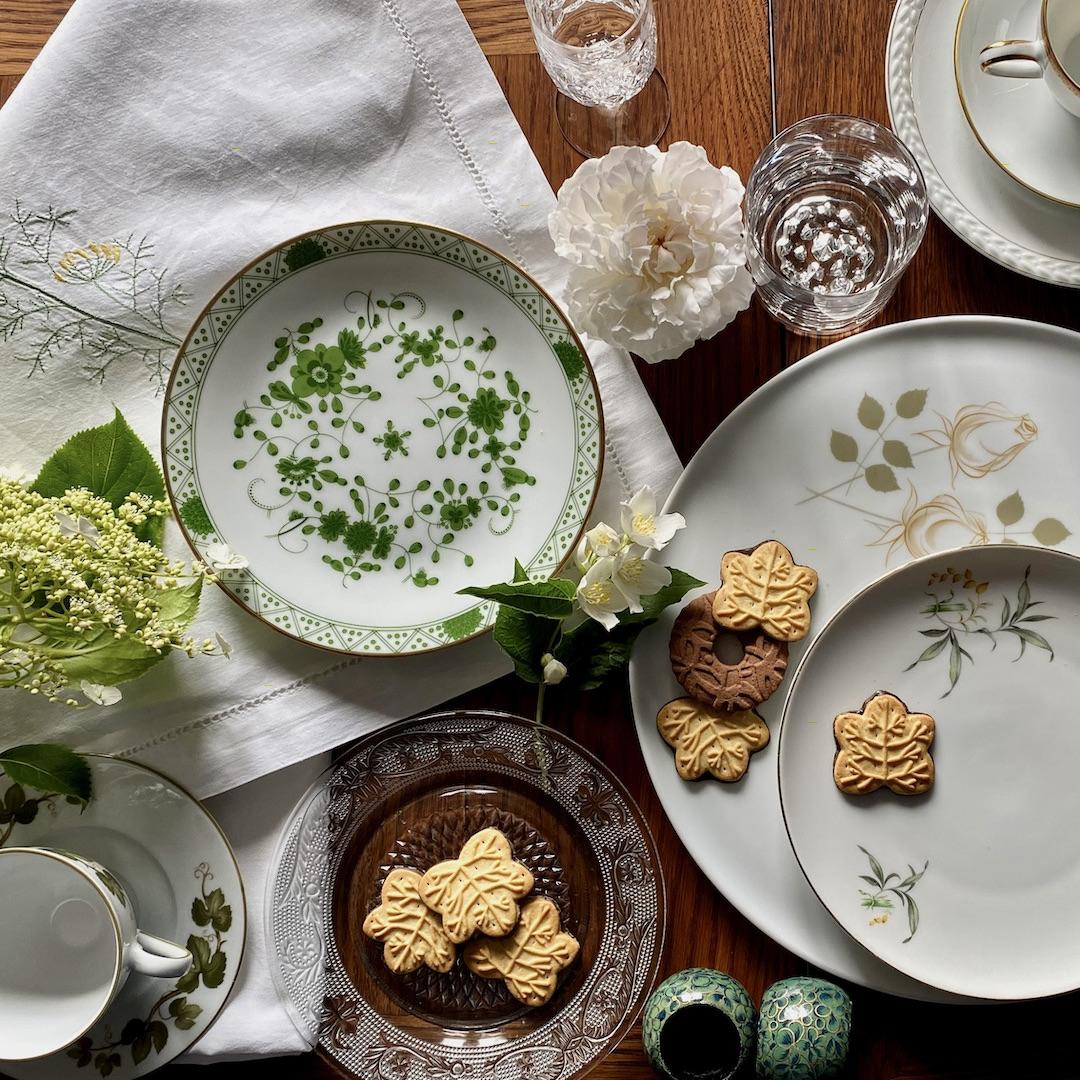 naczynia porcelanowe, kryształ, szkło, ceramika, porcelana, vintage, retro