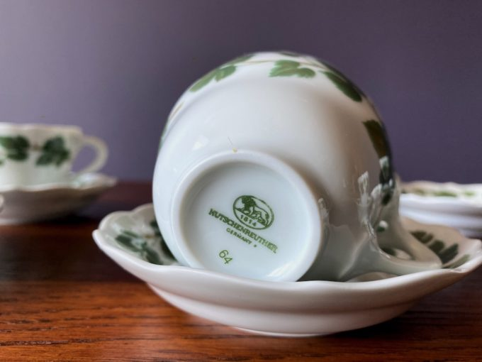 porcelanowe filiżanki do espresso Hutshenreuther