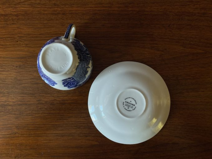 duet angielska porcelana