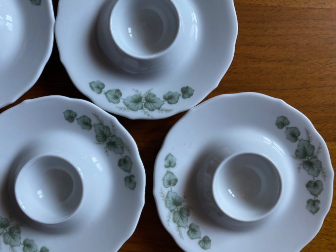 jajcarki porcelanowe