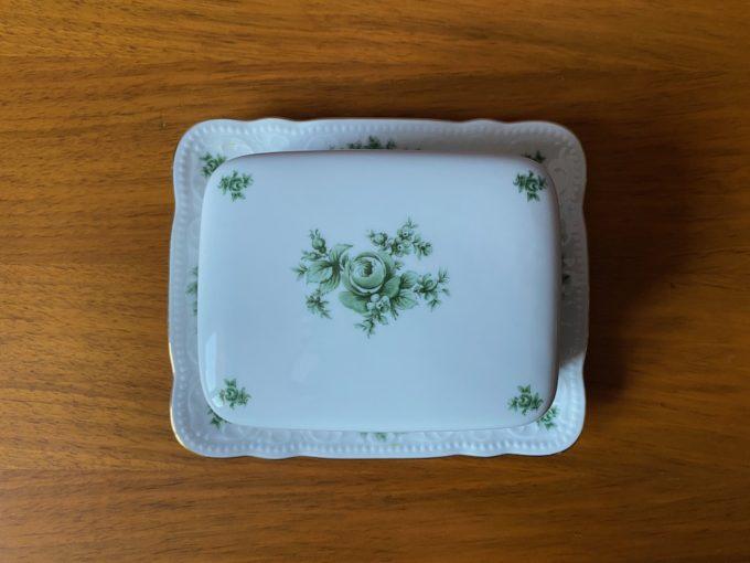 maselniczka porcelanowa Seltmann Weiden